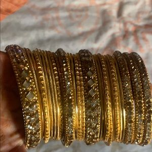 Jewelry - Beautiful gold artificial bangles